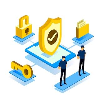 Cyber-sicherheitskonzept
