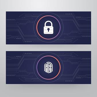 Cyber-sicherheitsschloss