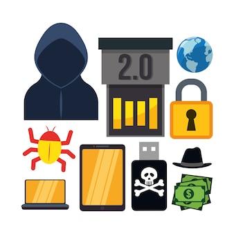 Cyber-sicherheitssystem und mediendesign