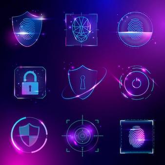 Cyber-sicherheitstechnologie-set