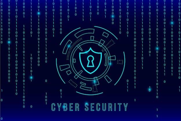 Cybersicherheit und matrixeffekt