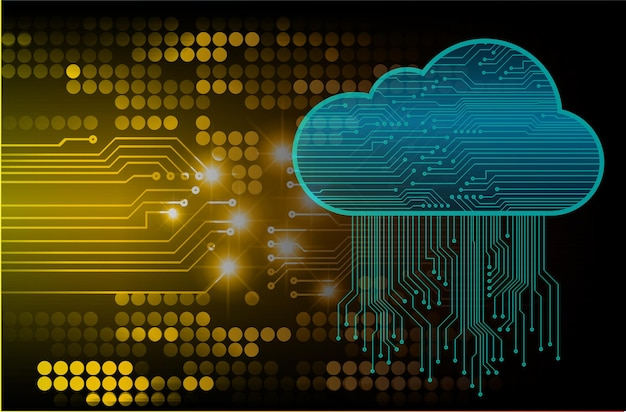 Cybersicherheitshintergrund für fingerabdrucknetzwerke