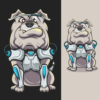 Cyborg-bulldogge