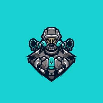 Cyborg fighter premium-logo