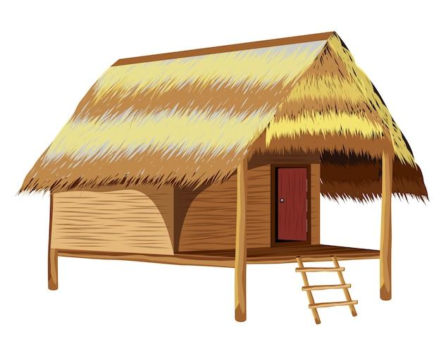Dach strohhütte