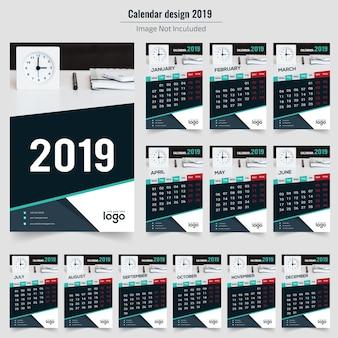 Daek wandkalender 2019
