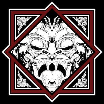 Dämon illustration