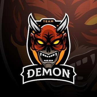 Dämonenkopf logo esport