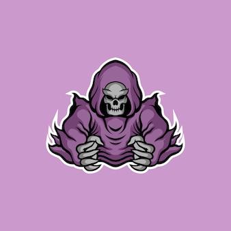 Dämonisches logo-design