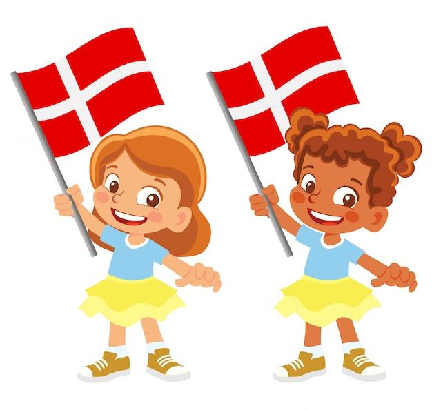 Dänemark flagge im handset