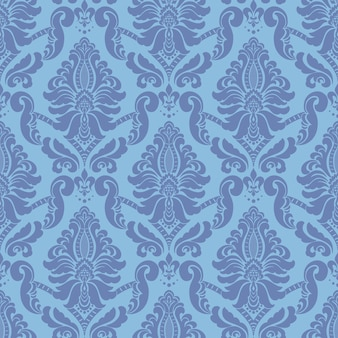 Damast nahtlose muster. klassisches luxus-altmodisches damast-ornament, königliche viktorianische nahtlose textur