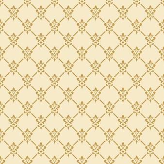 Damasttapete. eleganter hintergrund im viktorianischen stil. elegante vintage-verzierung in neutralen farben. nahtloses muster.