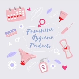 Damenhygieneprodukte