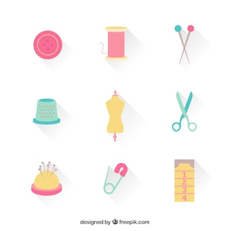 Damenschneiderin symbole
