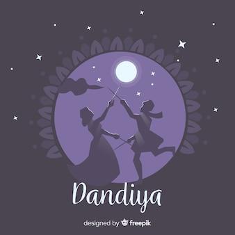 Dandiya hintergrund