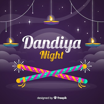 Dandiya nacht hintergrund