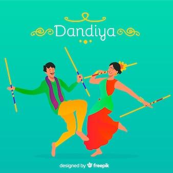 Dandiya tänzer