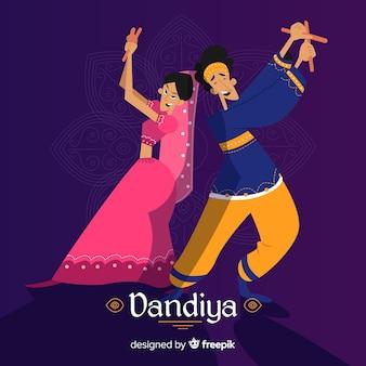 Dandiya tanz