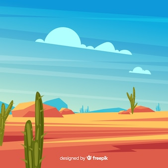 Dargestellter wüstenlandschaftshintergrund