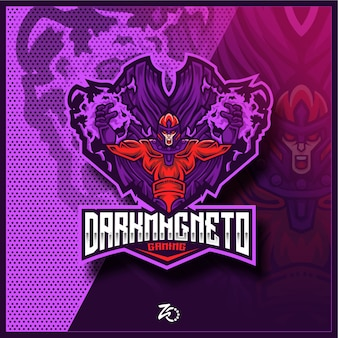 Dark hero magnet gaming esports