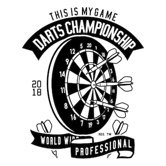 Darts meisterschaft
