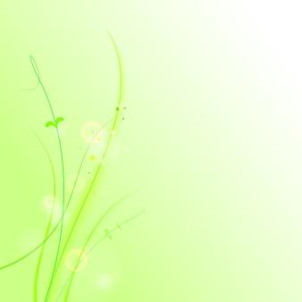 Das abstrakte gras