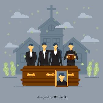Das bestattungsunternehmen