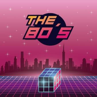 Das design der 80er jahre