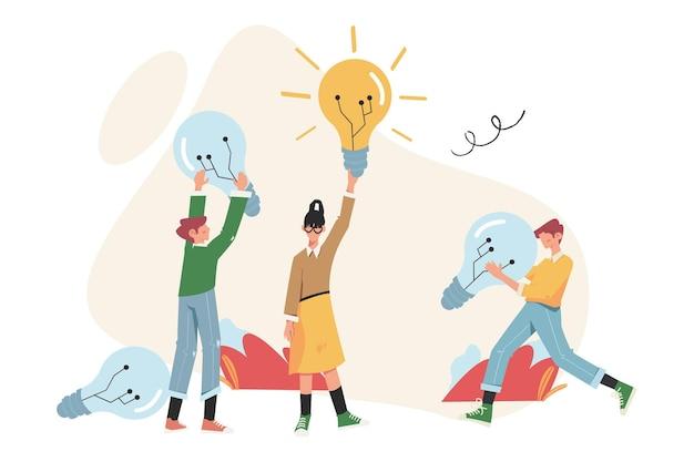 Das erreichen des ziels, der weg zum erfolg ist motivation, beruflicher aufstieg, ideensuche