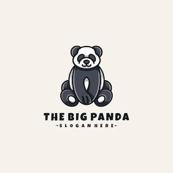 Das große panda-logo