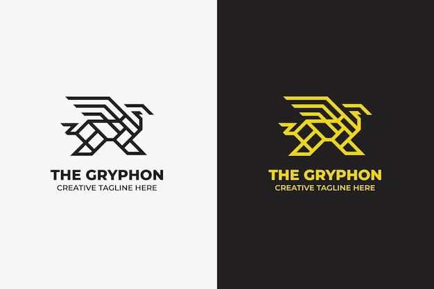 Das gryphon majestic monoline logo