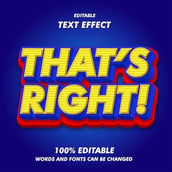 Das ist der richtige text