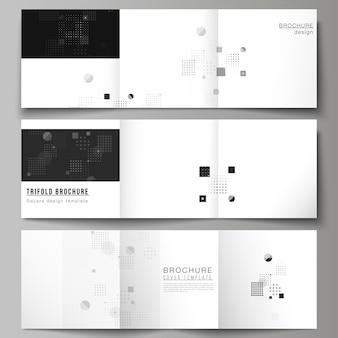 Das schwarz gefärbte layout