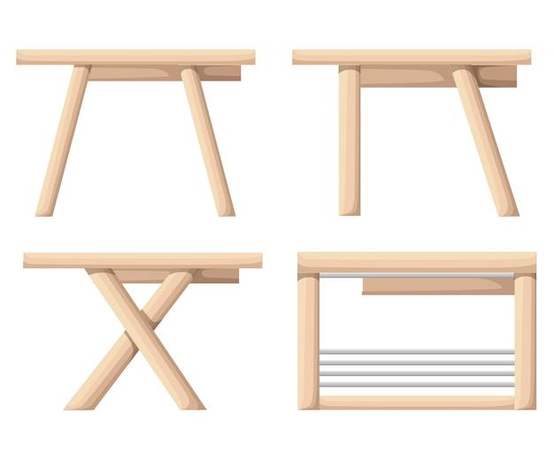 Das tabellensymbol. arbeitsplatz und job, büro, arbeitssymbol. flache illustration.