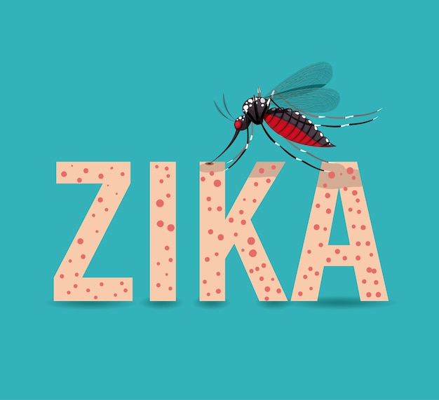 Das zika-virus-design