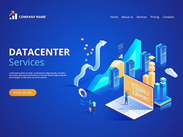 Datacenter services internet-rechenzentrumsverbindung