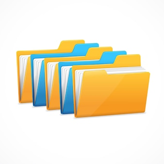 Dateiordner festgelegt. die zeichendatenspeicherung.