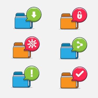 Dateiordnersymbol