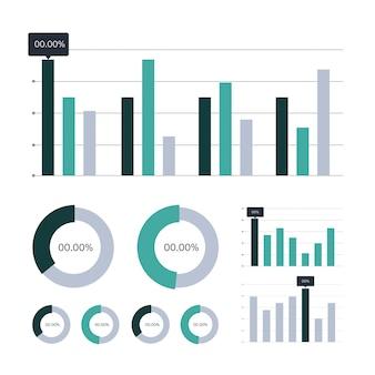 Datenanalyse-diagramm- und diagrammsymbole