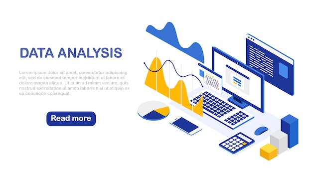 Datenanalyse. digitale finanzberichterstattung, seo, marketing. geschäftsführung, entwicklung