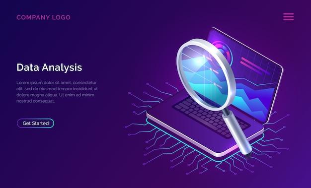 Datenanalyse suchmaschinenoptimierung isometrisch