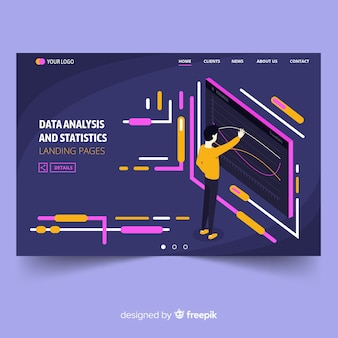 Datenanalyse-zielseite