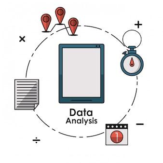 Datenanalyseelemente konzept