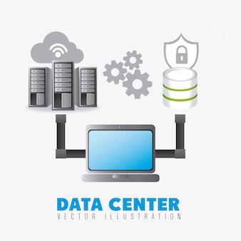 Datenbank digitales design.