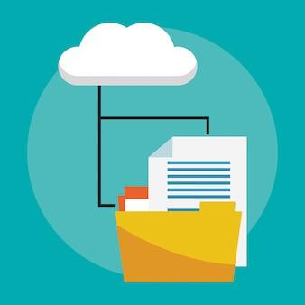 Datenbank- und cloud-computing