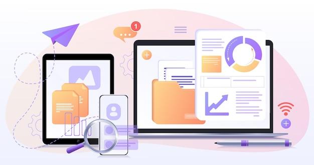 Datenbank zur prozessklassifizierung von datensätzen struktur der unternehmensprozessentwicklung rechenzentrum