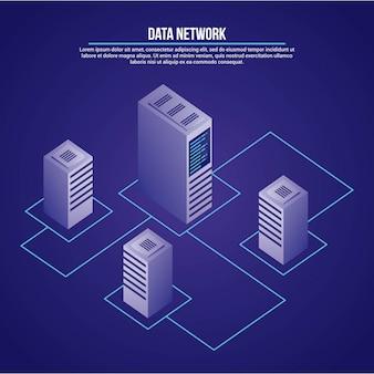 Datennetz abbildung