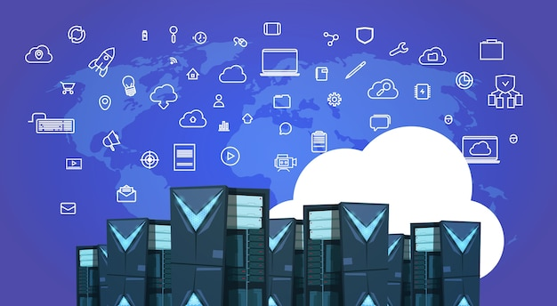 Datenschutz cloud-synchronisation server-center