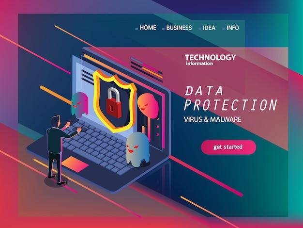 Datenschutz für moderne technologie