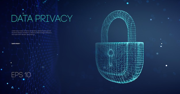 Datenschutz regierungssoftware. e-mail-server-hacker-guard-daten. angriff auf sicherheits-cloud-daten. alarm sperrt serverdaten. asiatisch es unterstützt vektor-illustration. vektor-illustration.